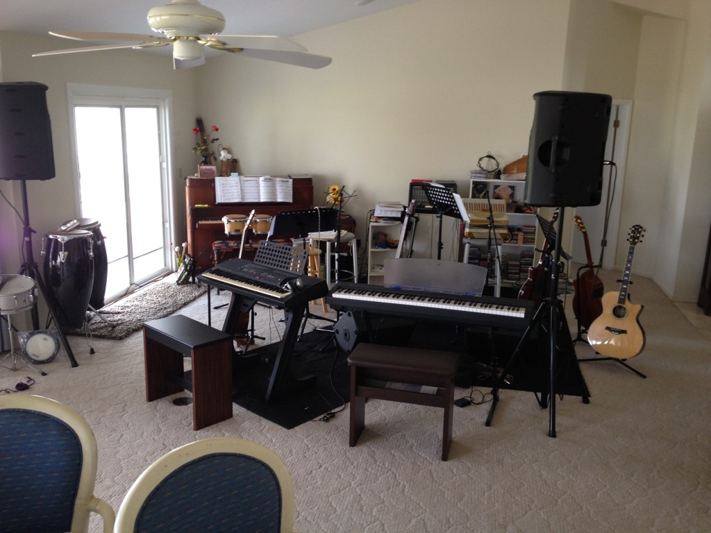 Musical Living room